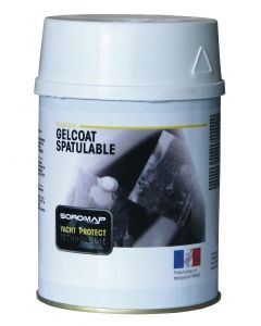 Gelcoat espatulable blanco 750 cm3