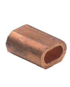Manguito cobre Ø 3 mm, por 4