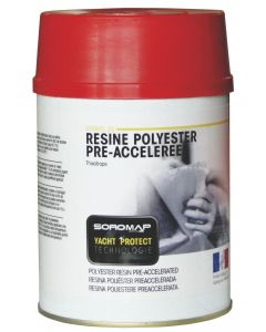 Resina poliéster + catalizador PMEC
