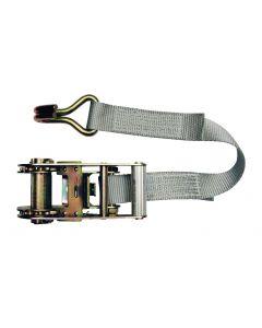 Cincha de sujeción con trinquete modelo en 2 partes 35mm, L : 6m, R : 2500Kg