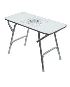 Mesa plegable rectangular