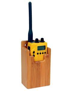 Soporte GPS y VHF 68x140x45mm de Bambú