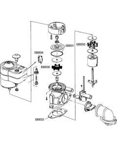 Turbina modelo pequeño para WC RM 69