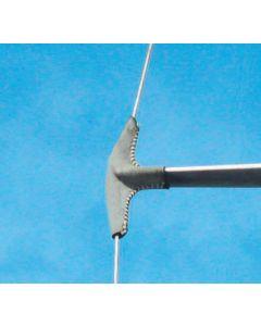 Protección de crucetas cuero estándar