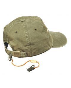 Cordón de fijación para gorras