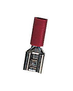 Clip preaislado color rojo