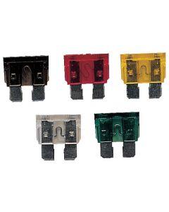 Fusibles enfichables 6 a 32 V Tamaño estándar - 6.35 mm