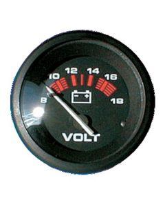 Voltímetro negro