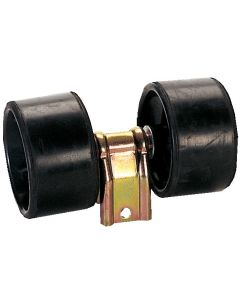 Péndulo sobre rodillos 2 Rodillos Ø 75mm, L : 200mm