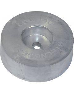 Ánodo Espejo de popa ø125 mm, 2.7 kg