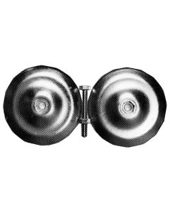 Ánodo circular Ø 128 mm, peso 1,125 kg