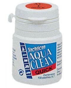 Desinfectante Aqua Clean en caja de 100 pastillas