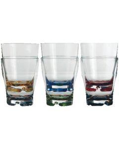 Vasos de agua Party 6 piezas