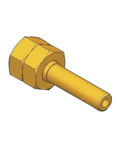Adaptador  G1/4 - tubo 8mm