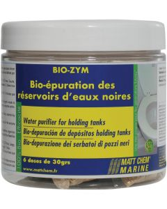 Aditivo bio depósito tapón BIO-ZYM 6 dosis 30 g