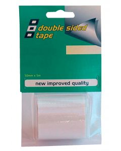 Adhesivo doble cara 5m x 50mm