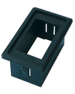 Soporte interruptor estanco de plástico simple