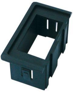 Soporte interruptor estanco de plástico lateral