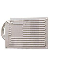 Evaporador de placa para grupo frío con refrigeración por agua
