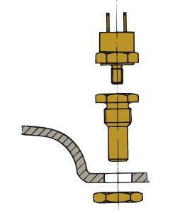 Sensor de temperatura del motor k