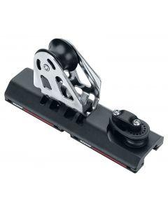 Escoteros de génova regulables ESP con rodamientos Modelo con roldana 57mm y punto fijo para carril 27 mm