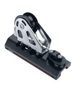 Escoteros de génova regulables ESP con rodamientos Modelo con roldana 76mm y punto fijo para carril 32 mm