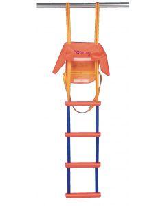 Escalera de emergencia estándar 4 peldaños